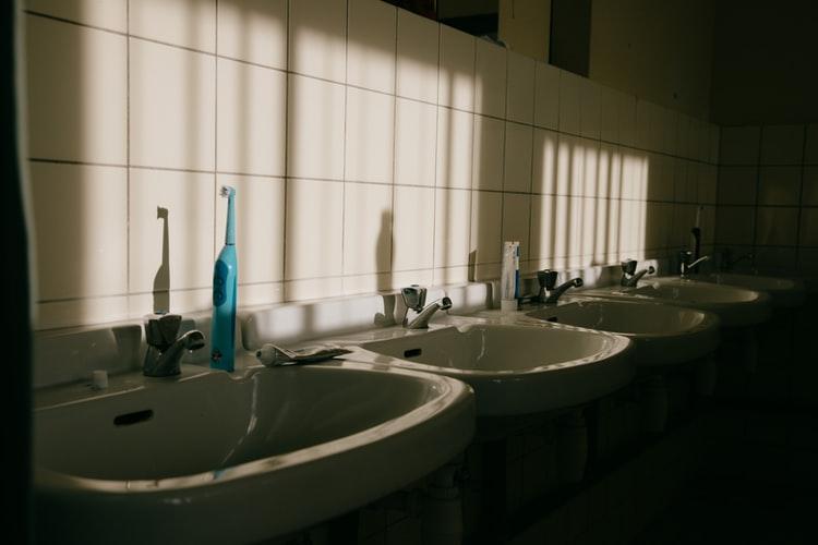 restroom suite